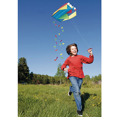Pocket Kite In A Bag Kids Miniature Colorful Outdoor Kite