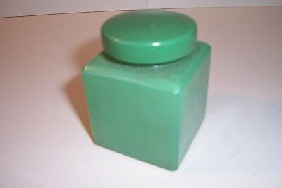 Antique Ink Bottle Green