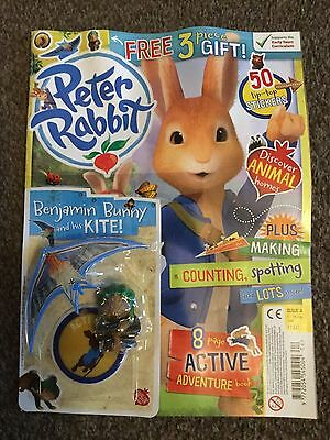 New Issue Of Peter Rabbit Magazine With Free Gift Issue 4