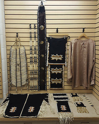 Nice Hand Crafted 15 Piece Ribbonwork Native American Indian Straight Dance Set