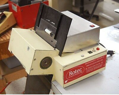 Rotec Die Cutter with Jo-Kat Power feeder 8up wallet size