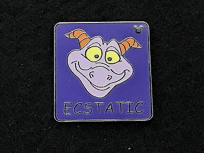 Disney Trading Pin - Figment Hidden Mickey Emotions Ecstatic - 57966