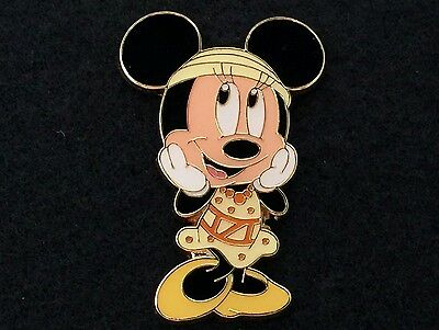 Tokyo DisneySEA Trading Pin - Minnie Mouse Japan Disney Game Prize Yellow Outfit