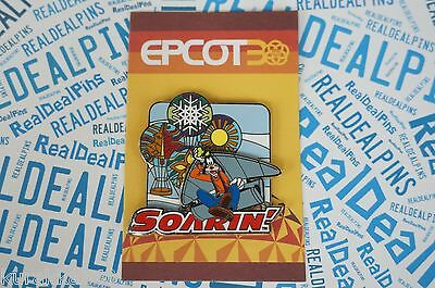 Disney Trading Pin Epcot 30th Anniversary Reveal Goofy Soarin' Attraction 94528
