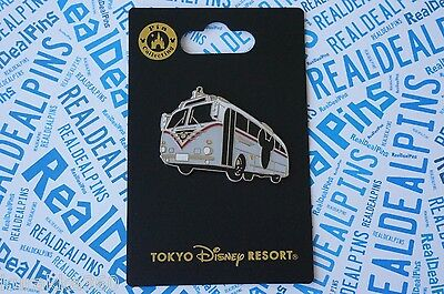 Tokyo Disney Resort Trading Pin - Mickey Transport Bus Line Vehicle New On Card