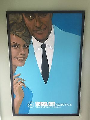 Phil Noto Painting - Hesslein Husband - 3 feet by 2 feet