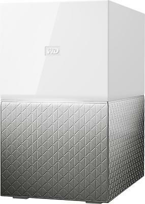 WD - My Cloud Home Duo 4TB 2-Bay Personal Cloud - White