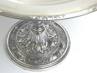 Huge Reed & Barton Silverplate Compote Centerpiece Art Deco Period