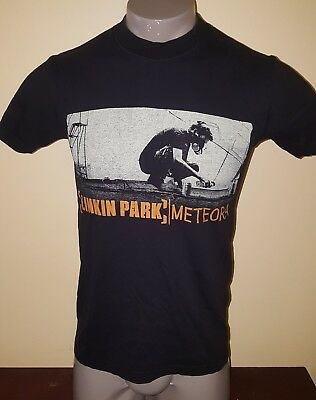 Vtg 2004 LINKIN PARK METEORA T-SHIRT SZ small ULTRA RARE CHESTER album promo