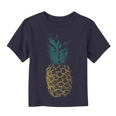 Lost Gods Distressed Pineapple - Toddler Graphic T Shirt