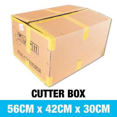 Med-Large Cardboard Packing Boxes Mixed Mail Postal Storage Moving Box