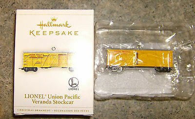 Hallmark Keepsake Union Pacific Veranda Stockcar Ornament