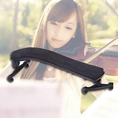 Violin Shoulder Rest Fully Adjustable Black Support for Violin 3/4 4/4 1/2