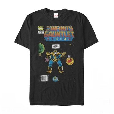 Marvel Thanos Infinity Gauntlet Comic Book Mens Graphic T Shirt