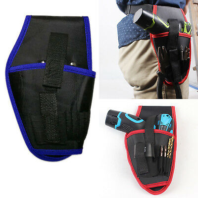 Drill Holster Cordless Tool Holder Heavy Duty Tool Belt Pouch Bag Pocket Loops