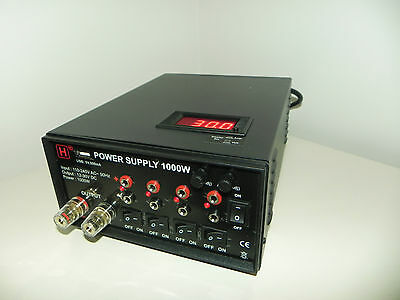 HW International - 12-30V DC, 0- 33Amp Variable, 1000W Switch Mode Power Supply