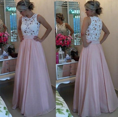 Moxeay Womens Sexy Evening Party Ball Prom Gown Formal Bridesmaid Cocktail Dress