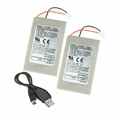 2PC FOR Sony PS3 Dualshock 3 Wireless Controller BATTERY  3.7V Sixaxis LIP1359