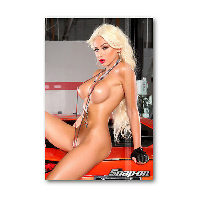 Z • 213 Tool Box Fridge Magnet Beautiful Snap-On Sexy Girl khloe Mini Bikini