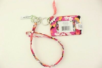 New with tags Vera Bradley Zip ID Case and Lanyard in Pixie Blooms