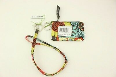 New with tags Vera Bradley Zip ID Case and Lanyard in Flower Shower