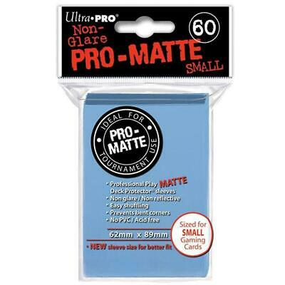 ULTRA PRO Deck Protector Sleeves Pro Matte Light Blue Small 60ct 62 x 89 mm