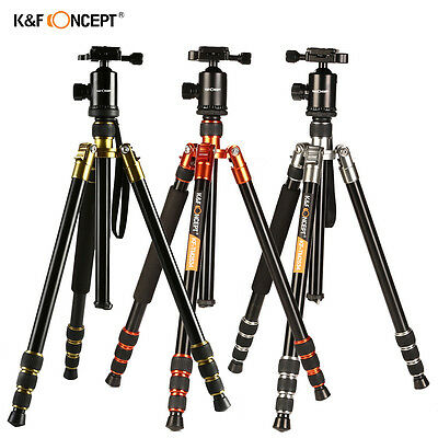 Professional Tripod Monopod Ball Head for Canon Nikon DSLR Camera K&F Concept