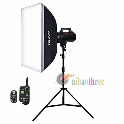 Godox GT-300 300W Studio Flash Light Strobe + 80*120cm Softbox + Light Stand【AU】
