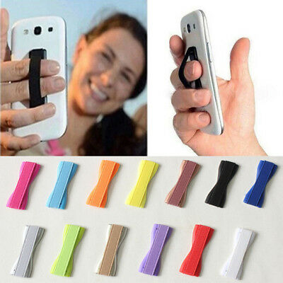 iPhone Android 1Pair Universal Finger Grip Sling Selfie Strap Phone Holder Tool