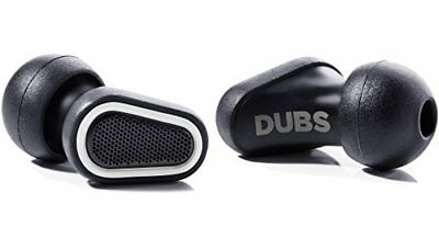 DUBS Noise Cancelling Music Ear Plugs Acoustic Filters High Fidelity Hearing