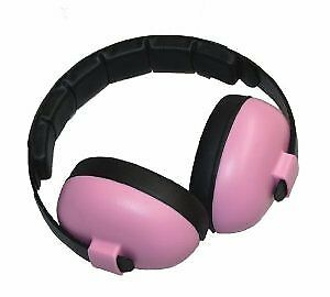 Baby BanzZ earBanZ Infant Hearing Protection Pink Earmuffs Safety Health