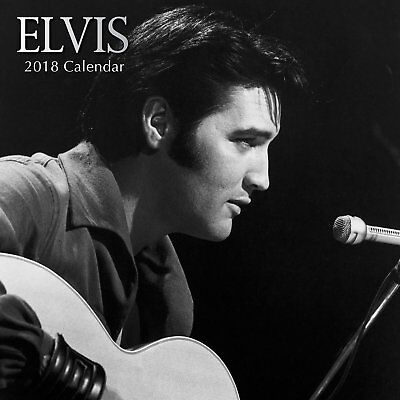 Elvis 2018 Wall Calendar (Gifted Stationery) NEW, Postage Included