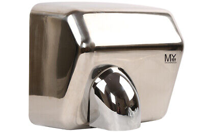 Hand Dryer Polished Commercial Automatic Stainless Steel Wall Mounted 304