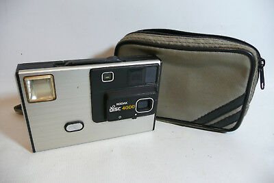 1980s Kodak Disc 4000 Film Camera + Case -