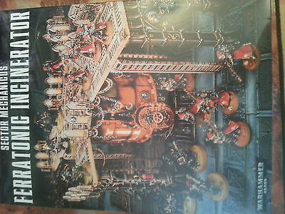 Warhammer 40K / Shadow War Armageddon Ferratonic Incinerator  - New & Sealed