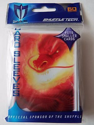 Max Protection Small Fit - Inferno Dragon - Trading Card Sleeves 60 Pack YuGiOh!