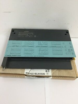 New Siemens Simatic S7 6ES7 422-1BL00-0AA0 Digital Output Module 6ES74221BL00