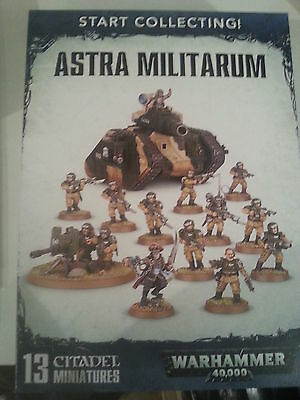 Warhammer 40K Start Collecting Astra Militarum Box Set - New & Sealed