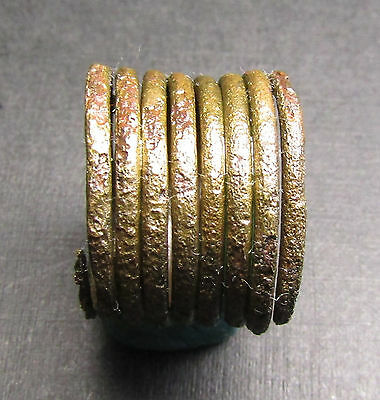 Ancient Bronze Viking Ring (7.7). Cleared.