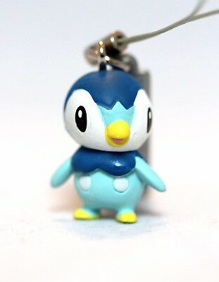Official Pokémon Piplup Phone Charm Strap Keychain Figure Nintendo