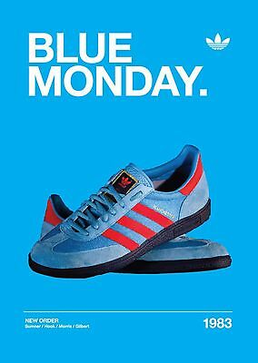 New Order - Blue Monday A3 260Gsm Poster Print