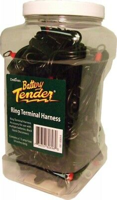 Battery Tender Quick Disconnect Leads W/ring Connector 25/pk D (081-0069-6-J25)