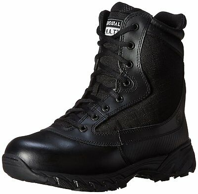 Original S.W.A.T. Men's Chase 9 Inch Side Zip Tactical Boot, Black