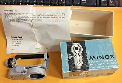 MINOX, Feldstecheransatz  Binocular Clamp (ATTACHMENT), In Box, Made in Germany