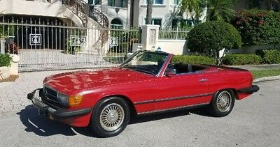 1979 Mercedes-Benz SL-Class 450SL 1979 Mercedes-Benz 450SL AMG LOOK  Brand New Tires, New Soft Top