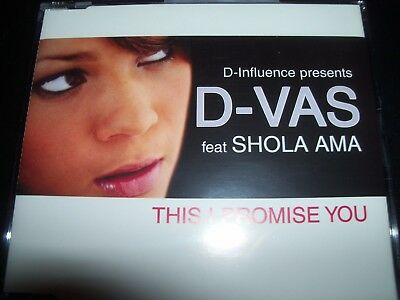 D-Influence Ft Shola Ama This I Promise You CD Single