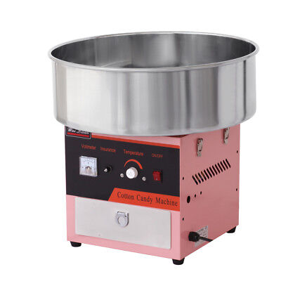 Electric Commercial Candy Floss Making Machine Cotton Fancy Sugar Maker 220V