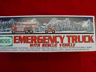 2005 NIB HESS Emergency Truck with Rescue Vehicle