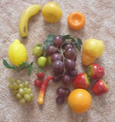 Retro Plastic Fruit  Lot 2