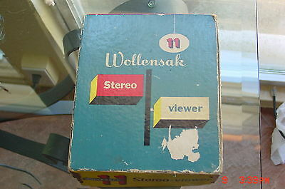 Wollensack Viewer slightly used Working with New  Halogen bulb Serviced !!!!!!!!